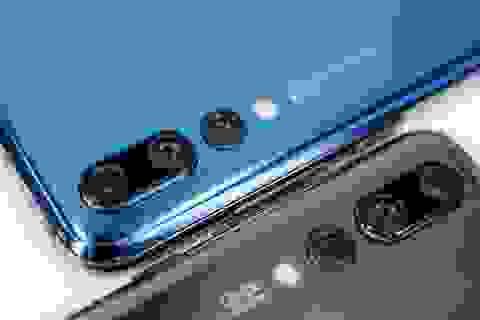 """Cận cảnh Huawei P20 Pro camera 68 """"chấm"""" vượt cả iPhone X"""