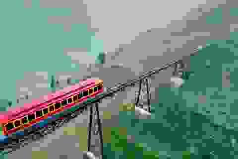 Sắp đưa vào vận hành tàu hỏa leo núi hiện đại nhất Việt Nam