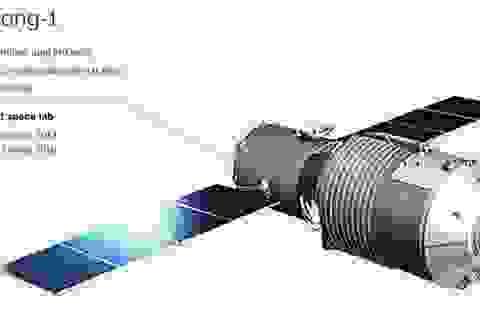 Trạm vũ trụ Thiên cung-1 sẽ rơi xuống Trái Đất trong vài ngày tới?