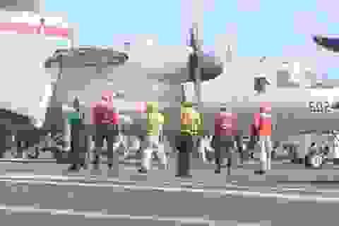 Cuộc sống nhà binh trên tàu sân bay Mỹ sắp thăm Việt Nam