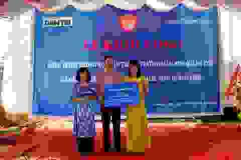 Khởi công xây dựng công trình phòng học Dân trí thứ 17 tại Quảng Bình