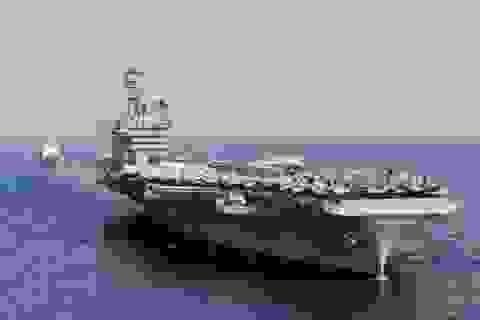 Hôm nay tàu sân bay, tàu khu trục Mỹ tới Việt Nam