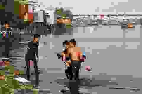 Bắc Giang: Hai bé gái đuối nước thương tâm do đi tắm ao