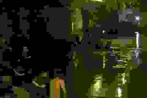 Cảnh sát ngụp lặn trong đêm tìm người phụ nữ nhảy cầu