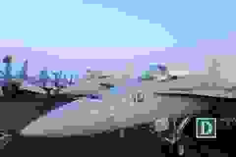 Dàn tiêm kích, máy bay do thám trên tàu sân bay Mỹ ở Đà Nẵng