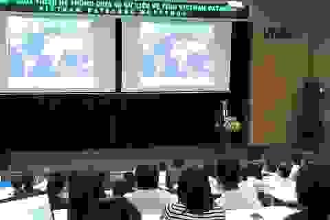 Dữ liệu vệ tinh quan sát Trái Đất Việt Nam cho phép người dùng khai thác miễn phí