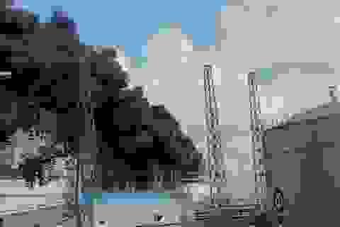 Cháy lớn tại dự án Nhà máy nhiệt điện Duyên Hải 3 mở rộng