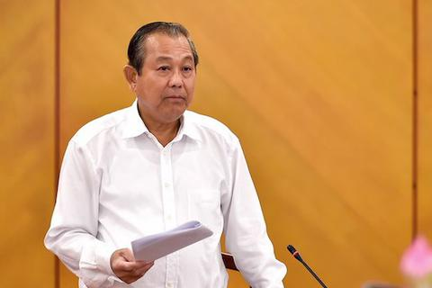 Phó Thủ tướng yêu cầu xử nghiêm người đứng đầu vụ 213 container mất tích