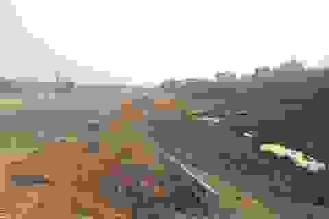 Yêu cầu giám sát chặt việc tập kết đất không đủ điều kiện thi công dự án cao tốc Bắc Giang - Lạng Sơn!