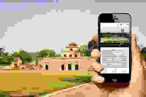 Bảo tàng, Di tích hướng dẫn khách tham quan bằng phần mềm di động
