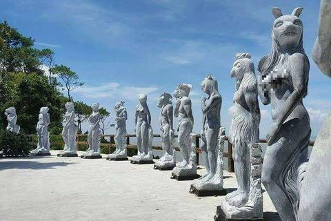 Lùm xùm bộ tượng 12 con giáp ở Hải Phòng