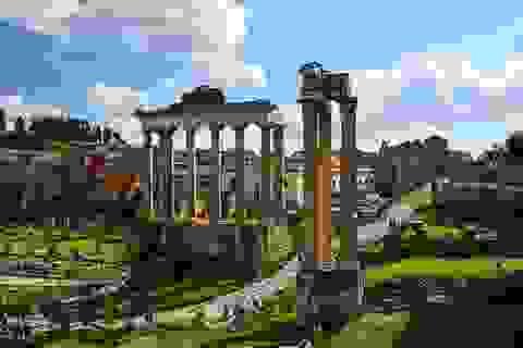 Ngắm hình bóng thời gian giữa không gian lãng mạn Roma