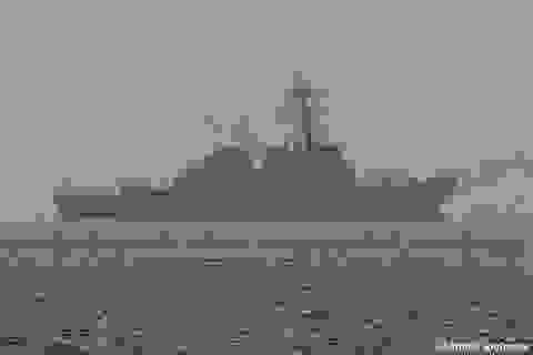 Tàu chiến Mỹ mang theo 60 tên lửa tiến sát Syria