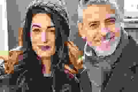 Vợ George Clooney tiết lộ cách chồng tán tỉnh thuở mới quen