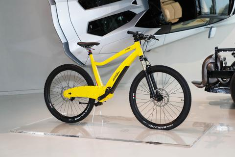 Lamborghini ra mắt xe đạp điện