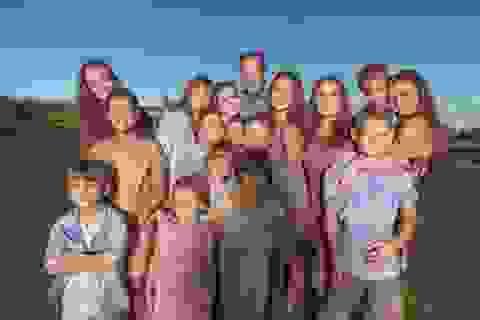 40 tuổi có 16 người con - Bà mẹ trong 10 năm liên tiếp sinh đẻ không ngừng nghỉ