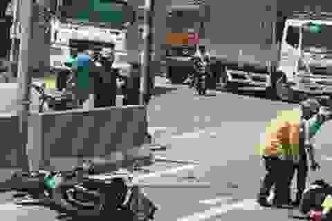 Xe mô tô phân khối lớn va chạm với xe tải, 1 người tử vong