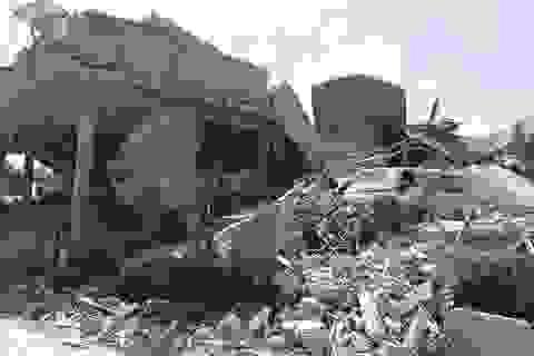 Trung tâm nghiên cứu khoa học của Syria bị đánh sập do vụ không kích