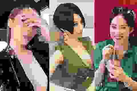 """Diễm My, Kỳ Duyên khoe ngực táo bạo, Angela Phương Trinh bất ngờ chuyển hướng """"kín bưng"""""""
