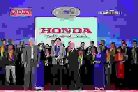 Honda Việt Nam được vinh danh với giải thưởng Rồng Vàng