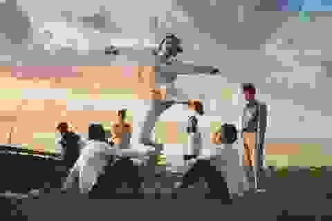 """Ảnh kỷ yếu """"trở về tuổi thơ"""" đầy cảm xúc của học sinh Ninh Bình"""