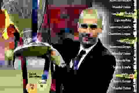 Pep Guardiola vô địch nhiều gấp đôi Mourinho trong 10 năm qua