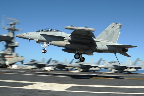Trung Quốc phá sóng máy bay chiến đấu Mỹ tuần tra trên Biển Đông