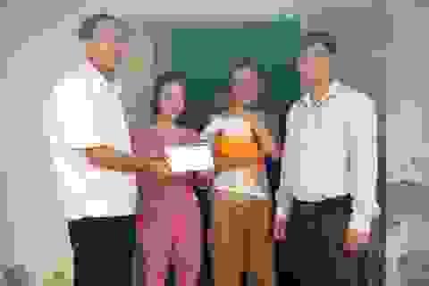 Hơn 20 triệu đồng đến với gia đình chị Trần Thị Huyền Trang