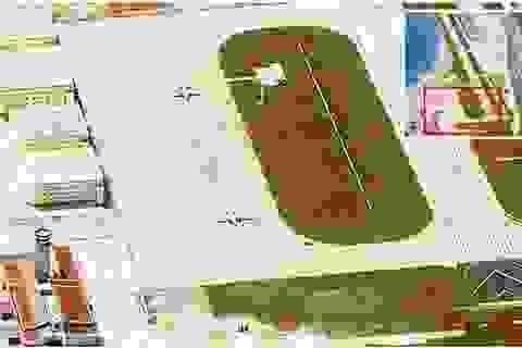 Philippines xác minh ảnh máy bay quân sự Trung Quốc trên đá Vành Khăn