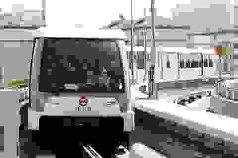 Thượng Hải cho chạy thử tuyến đường sắt đô thị không người lái
