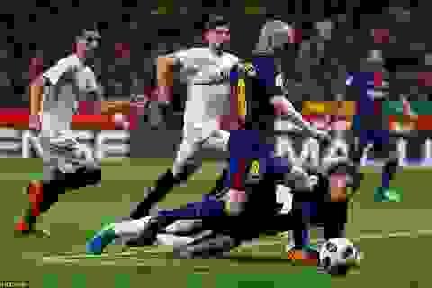 """Những khoảnh khắc Barcelona """"vùi dập"""" Sevilla để vô địch Cúp Nhà vua"""