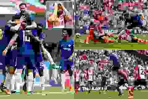 Giroud, Morata đưa Chelsea vào chung kết FA Cup