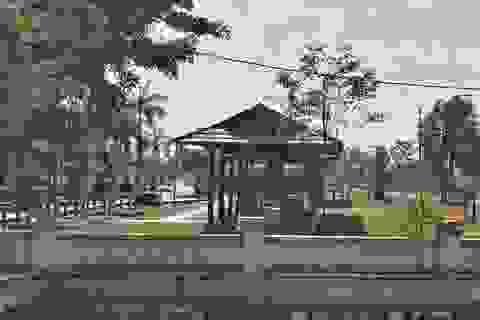 Tháo dỡ quán cà phê, bi-a trong khu lưu niệm Thủ tướng Phạm Văn Đồng