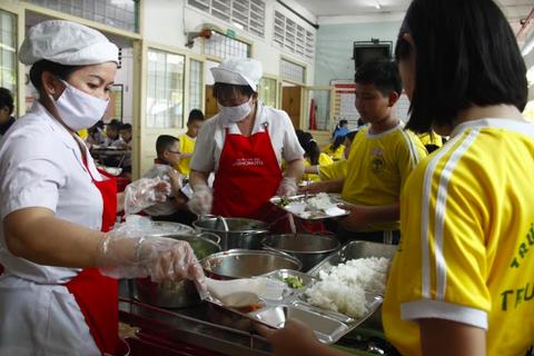 Các trường tiểu học bán trú ở Đắk Lắk tiếp cận phần mềm Dự án Bữa ăn học đường