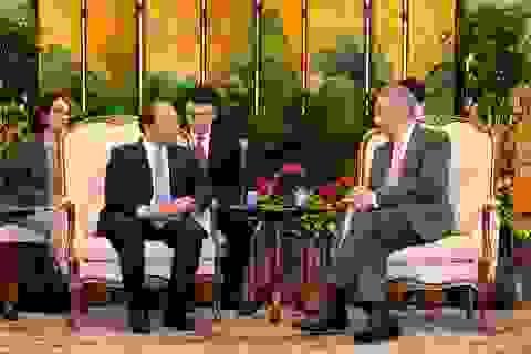 Thủ tướng Việt Nam, Singapore thống nhất tăng cường hợp tác quốc phòng, an ninh