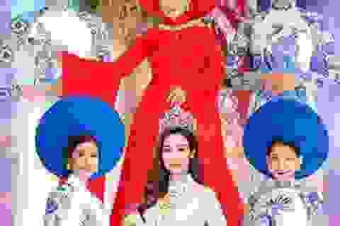 """Đêm diễn """"Huế Vàng Son"""" - nơi thăng hoa áo dài Việt với văn hóa cung đình cố đô"""