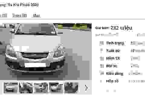 Những chiếc ô tô Kia cũ số tự động này đang rao bán tầm giá 200 triệu đồng tại Việt Nam