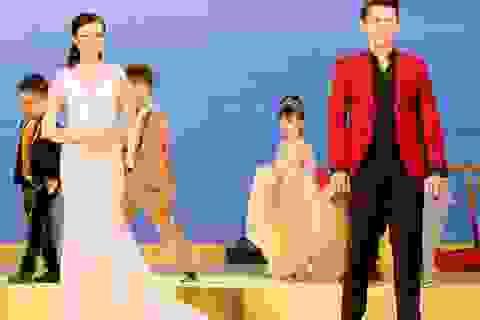 """Hoa khôi Thúy Vi, Nam vương Võ Tiến """"tái xuất"""" trình diễn thời trang ấn tượng"""