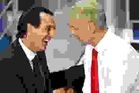 HLV Unai Emery tuyên bố ra đi, Arsene Wenger sắp cập bến PSG?