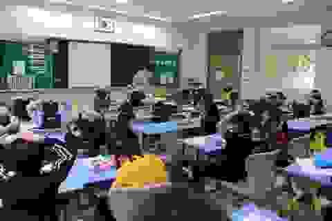 Điều đáng suy ngẫm từ một buổi học của học sinh tiểu học Hàn Quốc tại Việt Nam