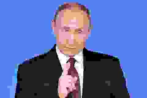 """Phát biểu hiếm hoi của Tổng thống Putin giữa """"tâm bão"""" vụ cựu điệp viên"""