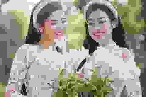 Hoa hậu Ngọc Hân, Đỗ Mỹ Linh thân thiết như hai chị em ruột