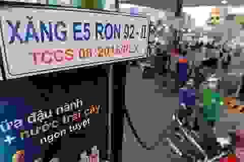 """Lý giải """"ngược"""" của Bộ Tài chính về giảm thuế môi trường với xăng E5"""