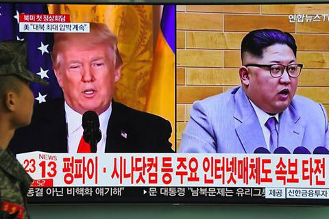 Ông Kim Jong-un có thể đồng ý gặp ông Trump ở biên giới liên Triều
