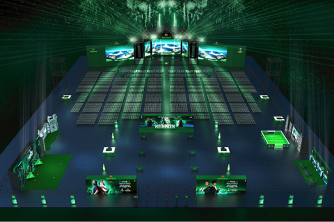 Cùng Heineken chia sẻ khoảnh khắc kịch tính chờ đón đại tiệc chung kết Champions League