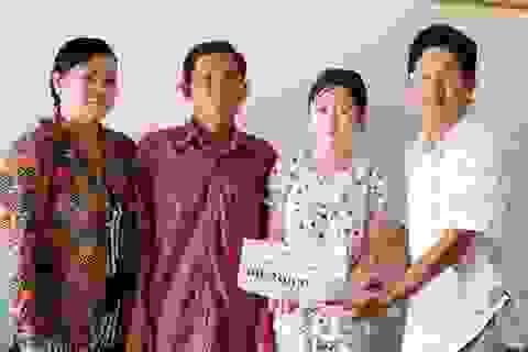 Hơn 100 triệu đồng đến với 2 hoàn cảnh khó khăn ở U Minh