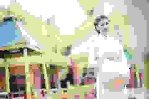 Loan Vương diện áo dài, nón lá quảng bá du lịch Việt tại Myanmar