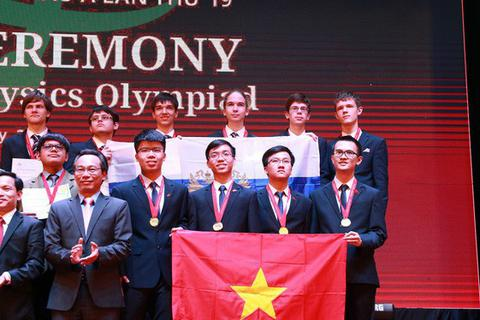 Olympic Vật lý châu Á 2018: Việt Nam thắng lớn với 4 HCV, xếp thứ 3 toàn đoàn