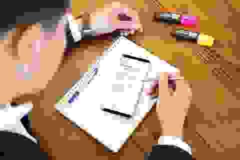 Vào họp gọn nhẹ như không, đích thị là dân dùng Galaxy Note8