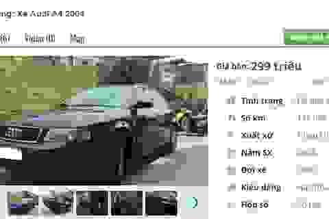 Những chiếc ô tô Audi cũ này đang rao bán tầm giá 200 triệu đồng tại Việt Nam